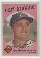 Carl Erskine (white back)