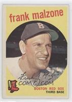 Frank Malzone (grey back)