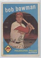 Bob Bowman (white back) [GoodtoVG‑EX]