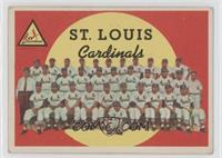 St. Louis Cardinals Team (4th Series Checklist 265-352) [GoodtoVG&#…