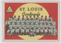 St. Louis Cardinals Team (4th Series Checklist 265-352) (White Back) [Good&nbsp…