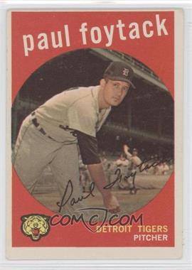 1959 Topps #233 - Paul Foytack