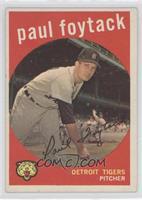 Paul Foytack (grey back)
