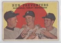 Run Preventers (Gil McDougald, Bob Turley, Bobby Richardson) [Goodto&nbsp…