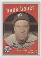 Hank Bauer (white back)