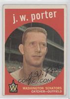 J.W. Porter (grey back) [GoodtoVG‑EX]