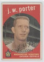 J.W. Porter (white back) [GoodtoVG‑EX]