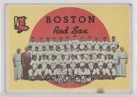 Boston Red Sox Team (3rd Series Checklist) [GoodtoVG‑EX]