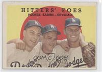 Hitters' Foes (Johnny Podres, Clem Labine, Don Drysdale)