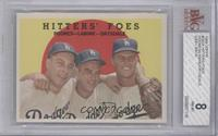 Hitters' Foes (Johnny Podres, Clem Labine, Don Drysdale) (grey back) [BVG …