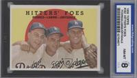 Hitters' Foes (Johnny Podres, Clem Labine, Don Drysdale) (grey back) [ENCASED]
