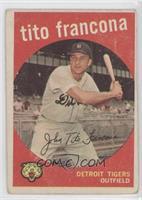 Tito Francona (white back)