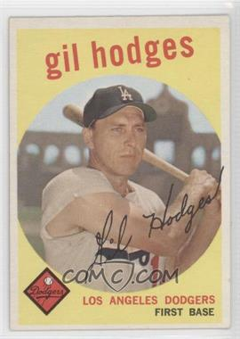 1959 Topps #270.1 - Gil Hodges (gray back)