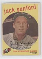 Jack Sanford [Good to VG‑EX]