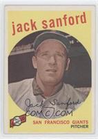 Jack Sanford (grey back)