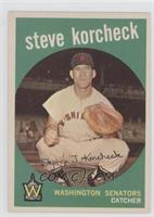 Steve Korcheck (white back)