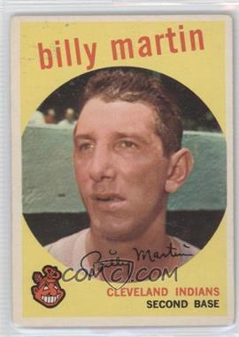 1959 Topps #295 - Billy Martin