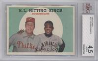 N.L. Hitting Stars (Richie Ashburn, Willie Mays) [BVG 4.5]