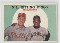 N.L. Hitting Stars (Richie Ashburn, Willie Mays)