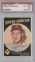 George Anderson [PSA 6 (ST)]