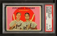 Pitchers Beware (Al Kaline, Charlie Maxwell) [PSA6]