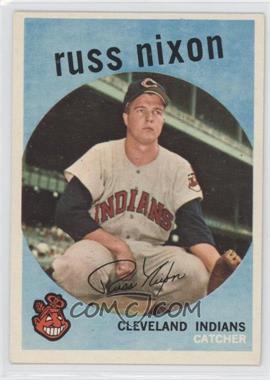 1959 Topps #344 - Russ Nixon
