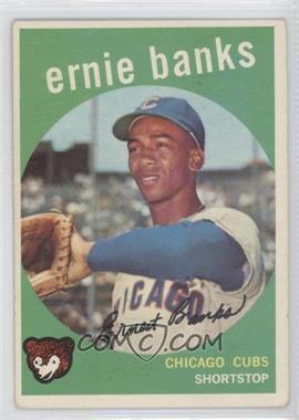 1959 Topps #350 - Ernie Banks [GoodtoVG‑EX]