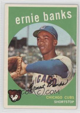 1959 Topps #350 - Ernie Banks [Good to VG‑EX]