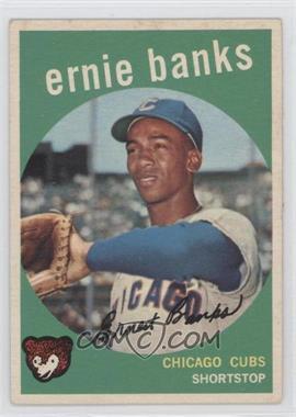 1959 Topps #350 - Ernie Banks