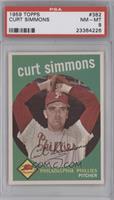 Curt Simmons [PSA8]