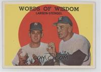 Words of Wisdom (Don Larsen, Casey Stengel)