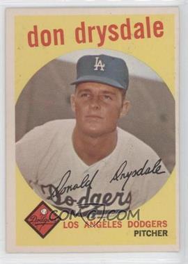 1959 Topps #387 - Don Drysdale