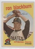 Ron Blackburn [Good to VG‑EX]