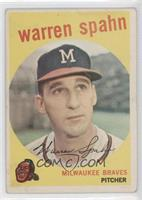 Warren Spahn (Error: Born 1931) [Good to VG‑EX]