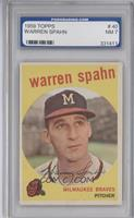 Warren Spahn (Correct: Born 1921) [ENCASED]
