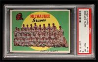 Milwaukee Braves Team [PSA8]