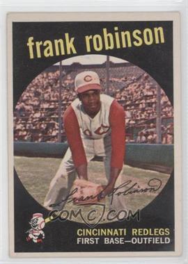 1959 Topps #435 - Frank Robinson
