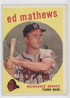 Eddie Mathews [GoodtoVG‑EX]