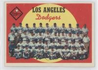 Los Angeles Dodgers Team (6th Series Checklist)