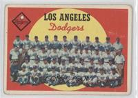 Los Angeles Dodgers Team (6th Series Checklist) [Good to VG‑EX]