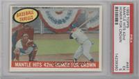 Mantle Hits 42nd Homer for Crown (Mickey Mantle) [PSA 5]