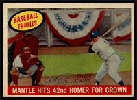 Mantle Hits 42nd Homer for Crown (Mickey Mantle) [EX MT]