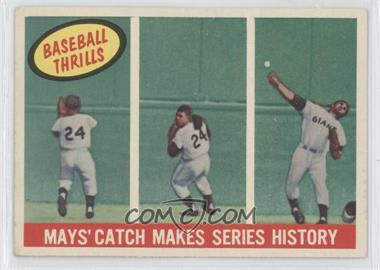 1959 Topps #464 - Willie Mays