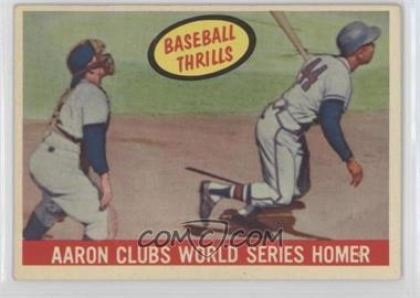 1959 Topps #467 - Hank Aaron