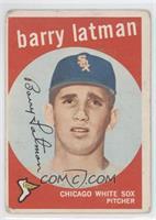 Barry Latman [PoortoFair]