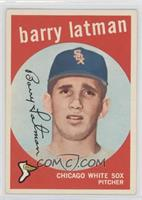 Barry Latman [GoodtoVG‑EX]