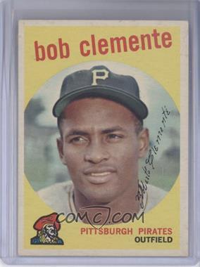 1959 Topps #478 - Roberto Clemente