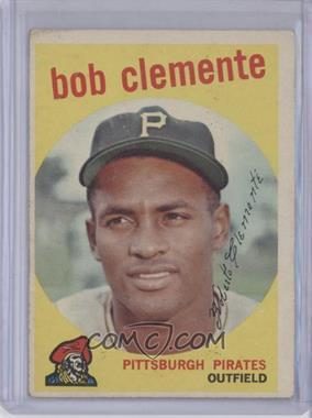 1959 Topps #478 - Roberto Clemente [GoodtoVG‑EX]