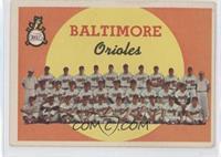 Baltimore Orioles Team (1st Series Checklist 1-88)