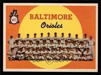 Baltimore Orioles Team (1st Series Checklist 1-88) [NM]